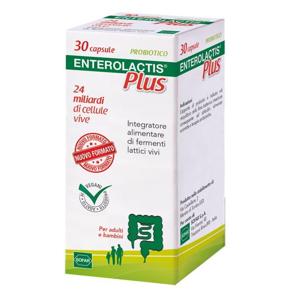 Enterolactis Plus Fermenti Lattici 30 Capsule