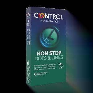 Control Non Stop Dots & Lines 6 Preservativi