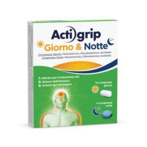Actigrip giorno&notte 12+4cpr