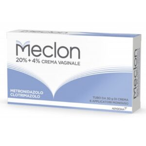 Meclon Crema Vaginale 30 g 20% + 4% + 6 applicatori