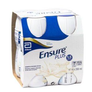 Ensure Plus Vaniglia 4x200 ml