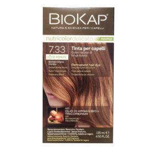 BioKap Nutricolor Delicato Rapid 7.33 Biondo Grano Dorato