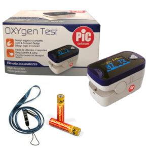 Pic Oxygen Saturimetro Da Dito Ossimetro Misuratore