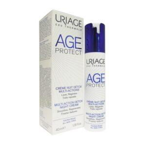 Uriage Age Protect Crema Notte DETOX Anti-Età Multi-Azione 40ml