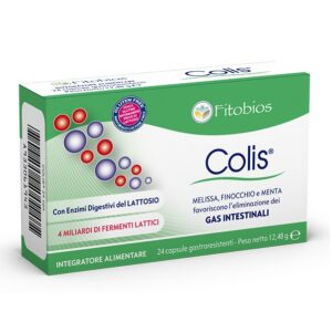 Fitobios Colis Gas Intestinali 24 Capsule Gastroresistenti