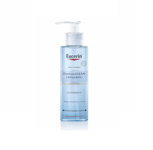 Eucerin DermatoCLEAN Hyaluron Gel Detergente Struccante 200ml