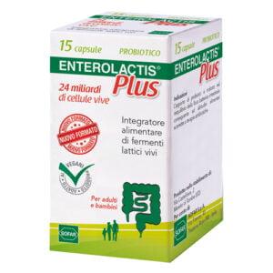 Enterolactis Plus Fermenti Lattici 15 Capsule