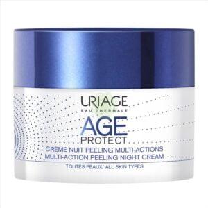 Uriage Age Protect Crema Notte Peeling Anti-Età Multi-Azione 50ml