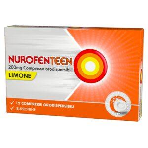 Nurofenteen 200mg Ibuprofene 12cpr Orodispersibili Limone