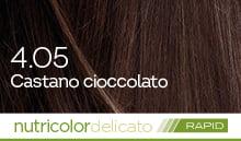 BioKap Nutricolor Delicato Rapid 4.05 Castano Cioccolato