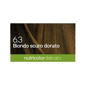 Biokap Nutricolor Delicato 6.3 Biondo Scuro Dorato