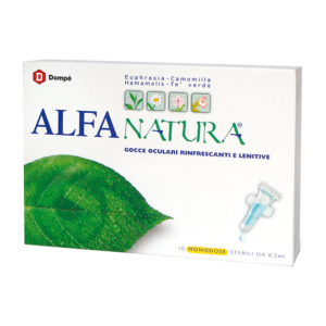 Alfa Natura Gocce Oculari Rinfrescanti e Lenitive 10 Flaconcini da 0,5ml