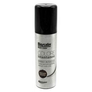 Bioscalin Nutri Color Colore Istantaneo Spray Ritocco Castano Chiaro 75ml