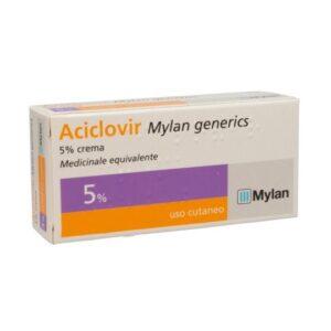 Aciclovir Crema 5% Tubo 3 g