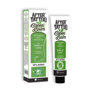 Aftertattoo Green Balm Pomata Post Tatuaggio 50 ml