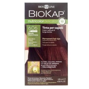 BioKap Nutricolor Delicato Rapid 6.06 Biondo Scuro Avana