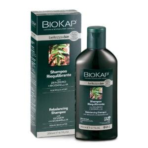 BioKap Bellezza Bio Shampoo Riequilibrante Seboregolatore 200ml