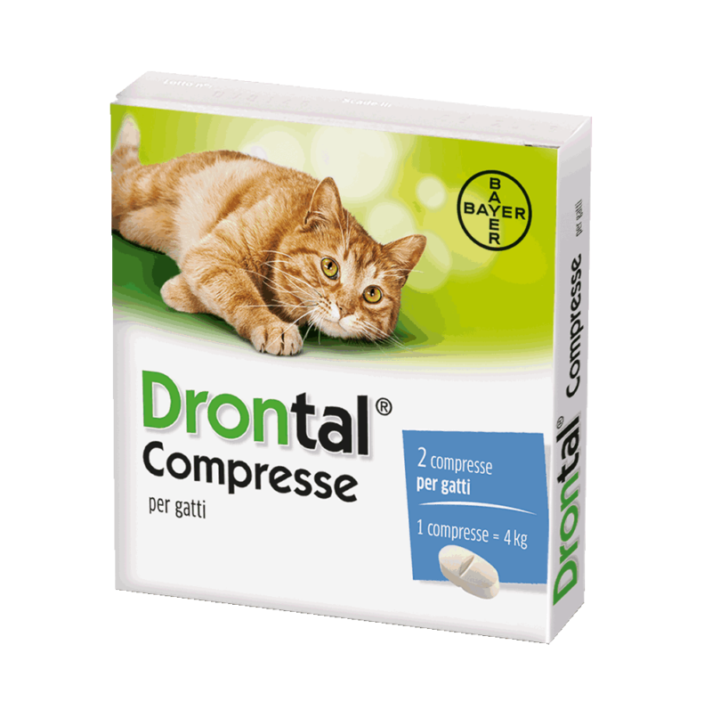 Drontal Compresse Gatti