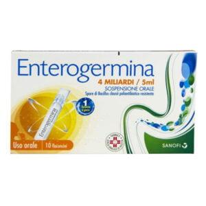Enterogermina 10 flaconcini 4mld / 5ml