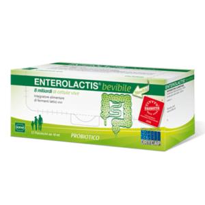 Enterolactis Bevibile Fermenti Lattici 12 Flaconcini da 10 ml