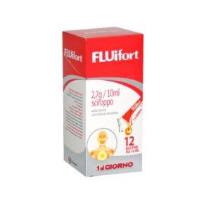 Fluifort Sciroppo 12 bustine 2,7g/10ml