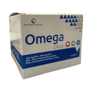 Omega Plus Alta Concentrazione Omega 3 150 Perle