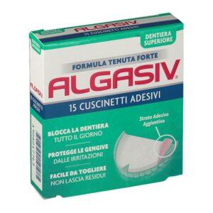 Algasiv Cuscinetti Adesivi Dentiera Superiore 15 pz