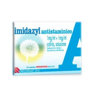 Imidazyl Antistaminico Collirio 10 flaconi da 0,5 ml