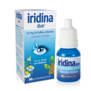 Iridina Due Collirio 10ml 0,5mg/ml
