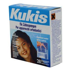 Kukis Compresse Pulenti per Apparecchi Ortodontici 28 cpr