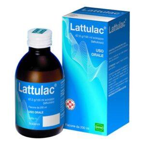 Lattulac Sciroppo 200 ml 67g / 100ml