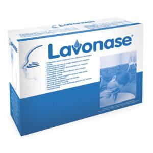 Lavonase 5 Sacche da 500 ml + 5 Dispositivi per Irrigazione Nasale