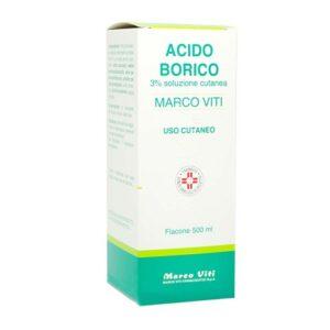 Marco Viti Acido Borico 3% Soluzione Cutanea 500 ml