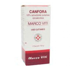 Marco Viti Canfora 10% Soluzione Cutanea Idroalcolica 100 g