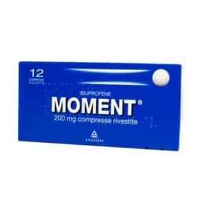 Moment 12 compresse rivestite 200 mg