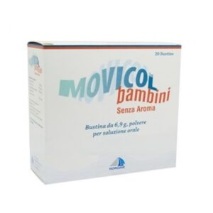 Movicol Senza Aroma Bambini 20 bustine 6,9 g