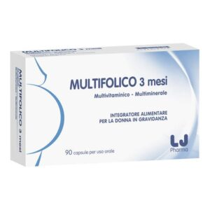 Multifolico 3 mesi 90 capsule molli
