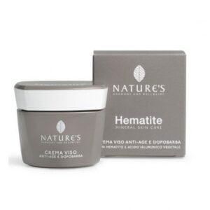 Nature's Hematite Crema Viso Antiage e Dopobarba 50ml