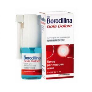 NeoBorocillina Gola Dolore Spray Gusto Menta 15 ml