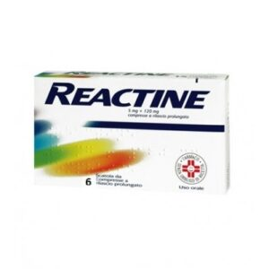 Reactine 6 compresse 5mg + 120mg