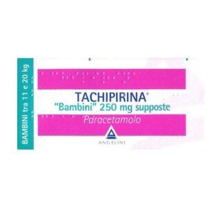 Tachipirina Bambini tra 11-20 kg 10 supposte 250 mg