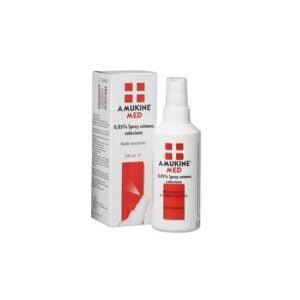 Amukine Med 0,05% Spray Cutaneo Soluzione Sodio Ipoclorito 200ml