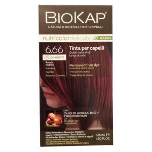 BioKap Nutricolor Delicato Rapid 6.66 Rosso Rubino