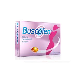 Buscofen 200mg 12 capsule molli