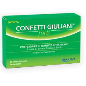 Confetti Lassativi Giuliani Forti 30 Confetti