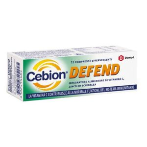 Cebion Defend Multivitaminico 12 cpr effervescenti