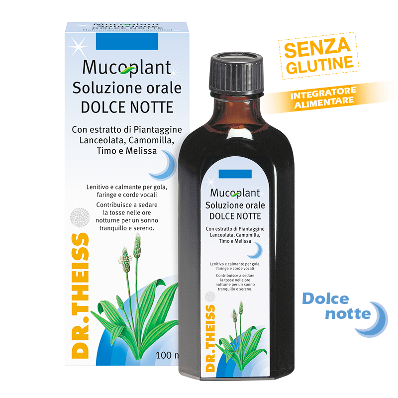 Dr. Theiss Mucoplant Sciroppo Notte Tosse 100ml