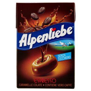 Alpenliebe Espresso Caramelle Senza Zucchero 49gr