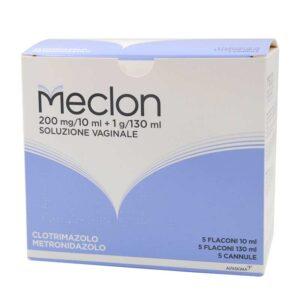 Meclon Soluzione Vaginale 5 fl 10ml + 5 fl 130ml + 5 cannule