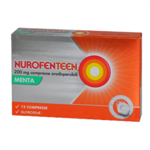 Nurofenteen 200mg Ibuprofene 12cpr Orodispersibili Menta